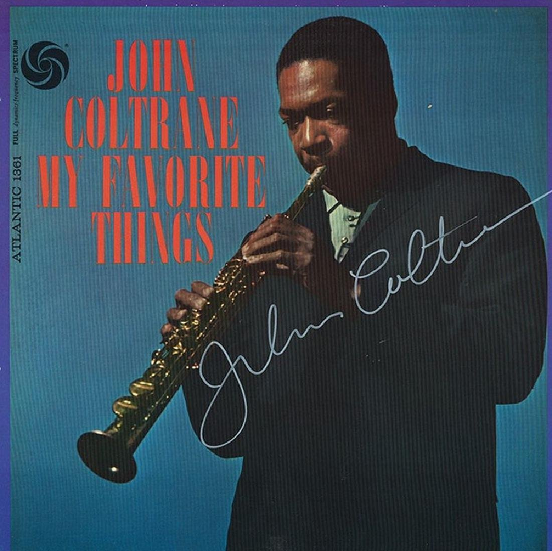 "John Coltrane ""My Favorite Things"" Signed Album"