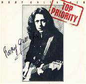 """Rory Gallagher """"Top Priority"""" Signed Album"""