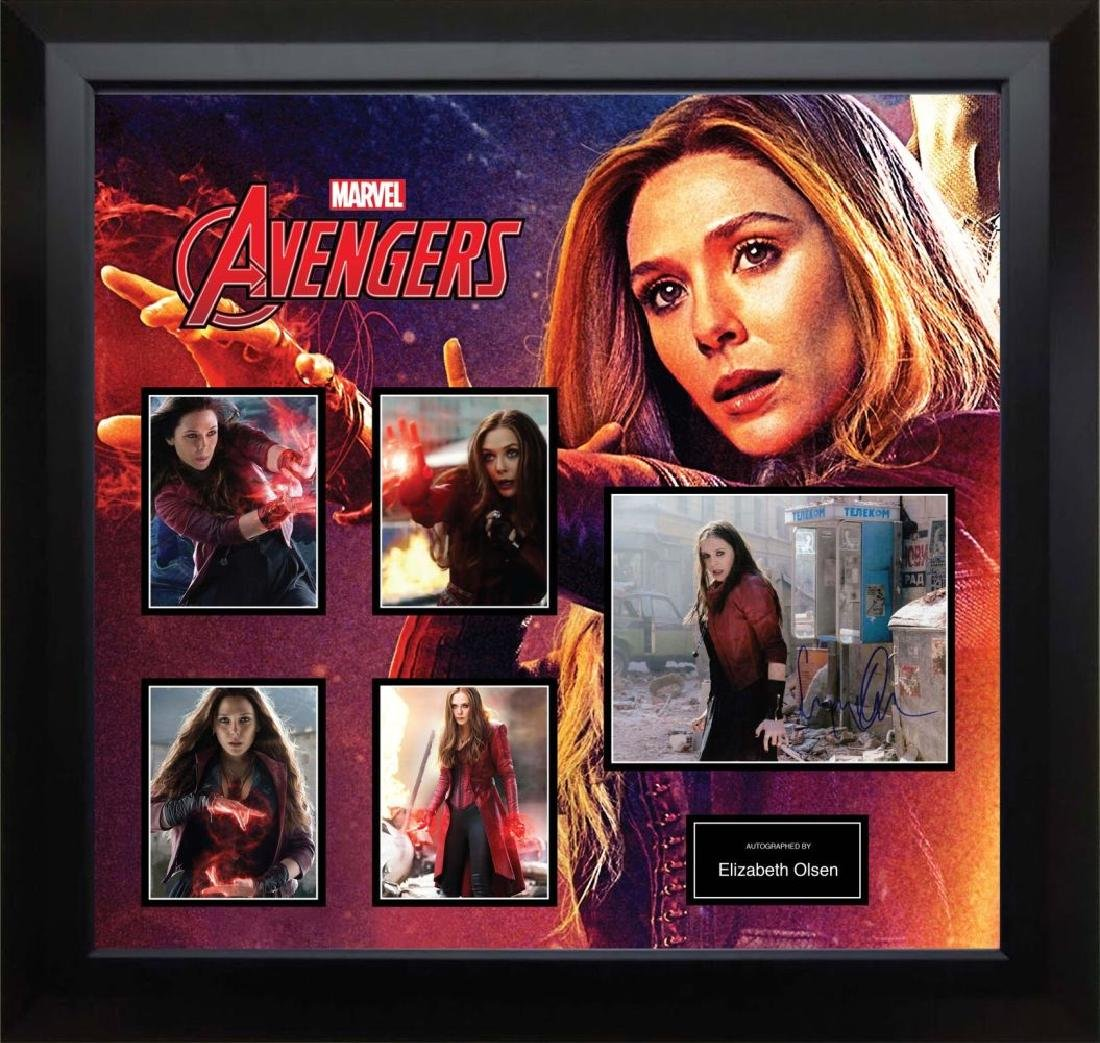 Scarlet Witch Signed Photo Collage