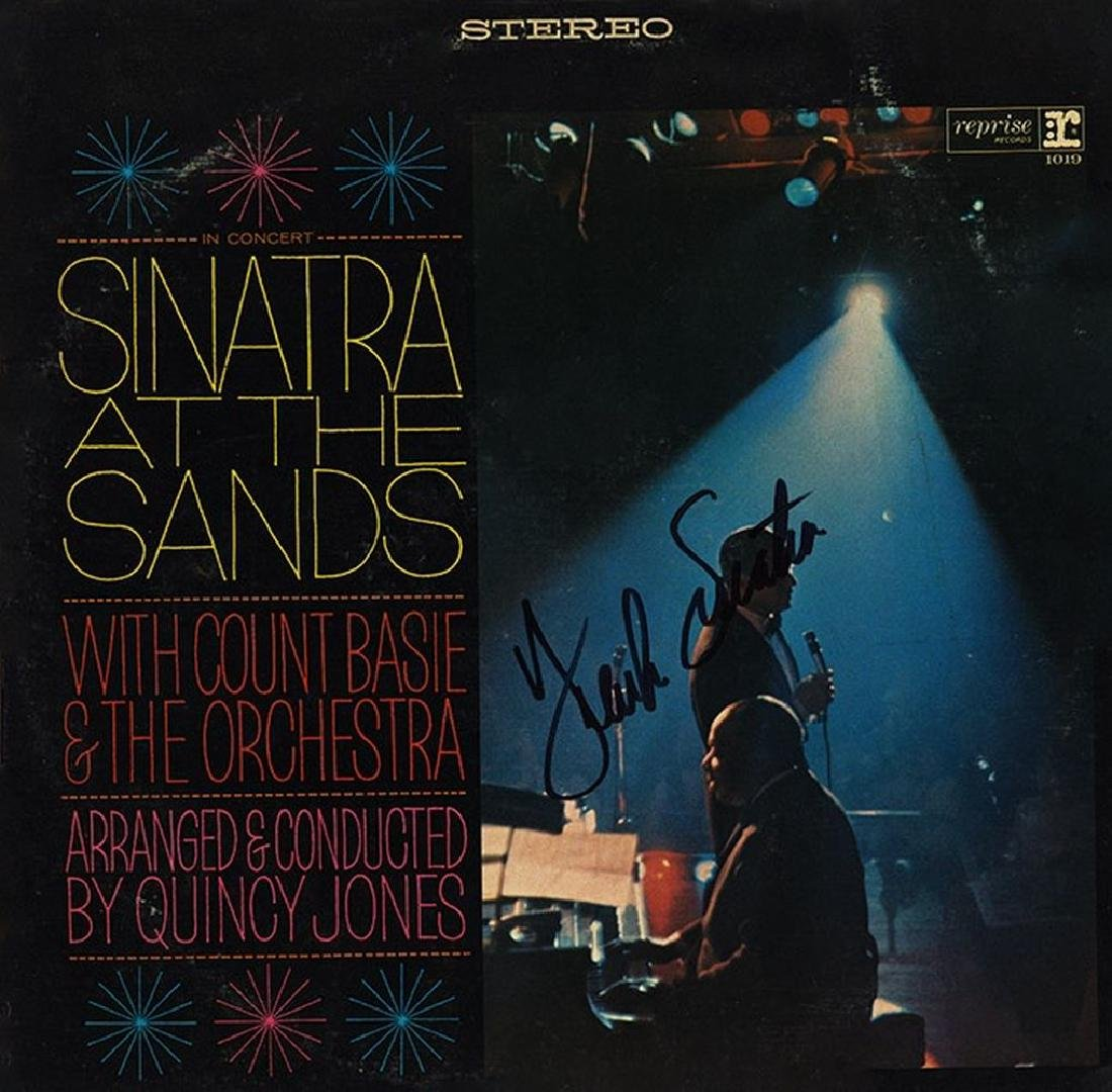 Frank Sinatra Signed Sinatra At The Sands Album
