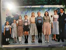 PSA/DNA Sound of Music Cast Signed Photo