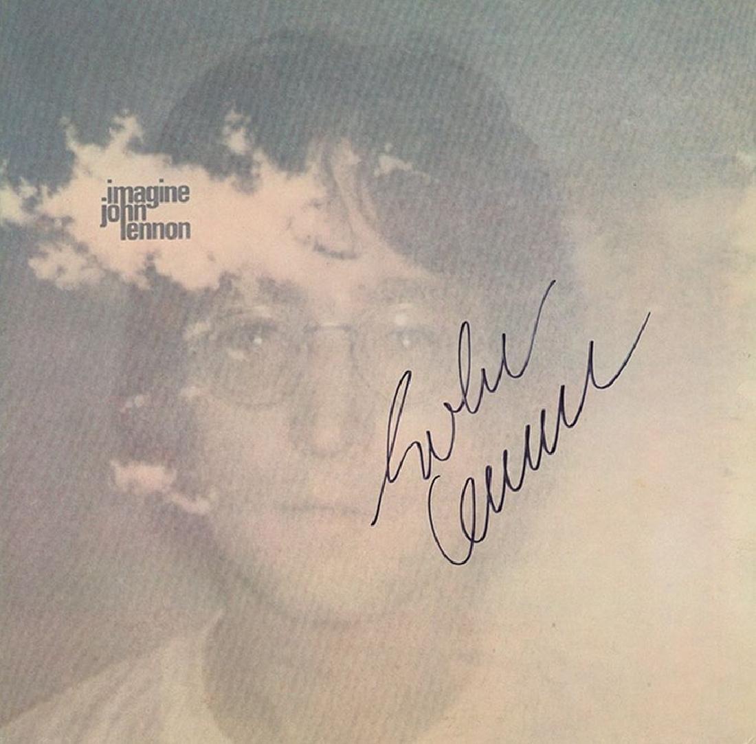 John Lennon Imagine Signed Album
