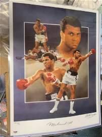 PSA/DNA Muhammad Ali Signed 20x24 Poster