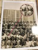 PSA Marilyn Monroe Signed High School Class Photo