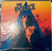 Beckett Police Signed Zenyatta Mondatta Album