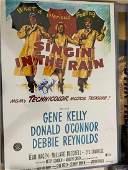 Beckett Debbie Reynolds Signed Singin in the Rain Mini