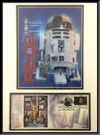 Star Wars; R2D2 First day of issue.