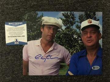 Beckett Authenticated Chevy Chase Signed Caddyshack