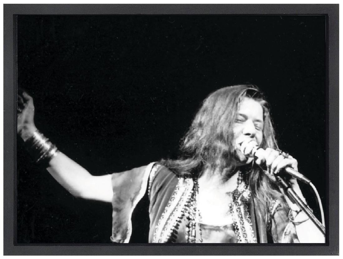 Janis Joplin Woodstock Limited Edition Framed