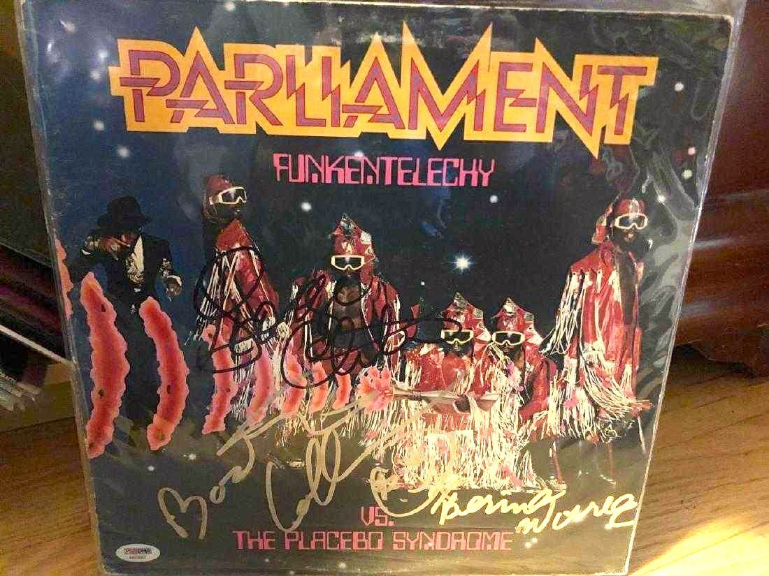PSA Authenticated Parliament Signed Album