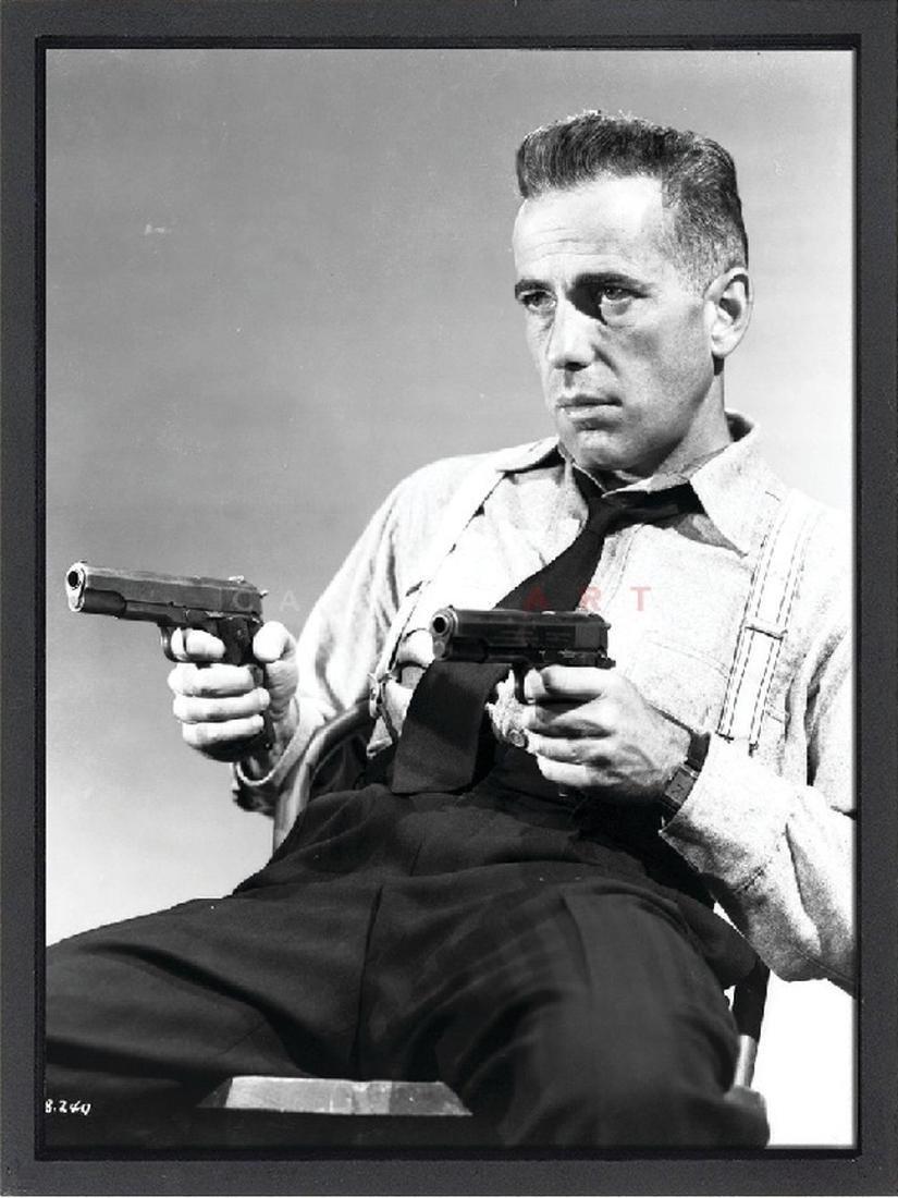 Humphrey Bogart Limited Edition Framed Lithograph