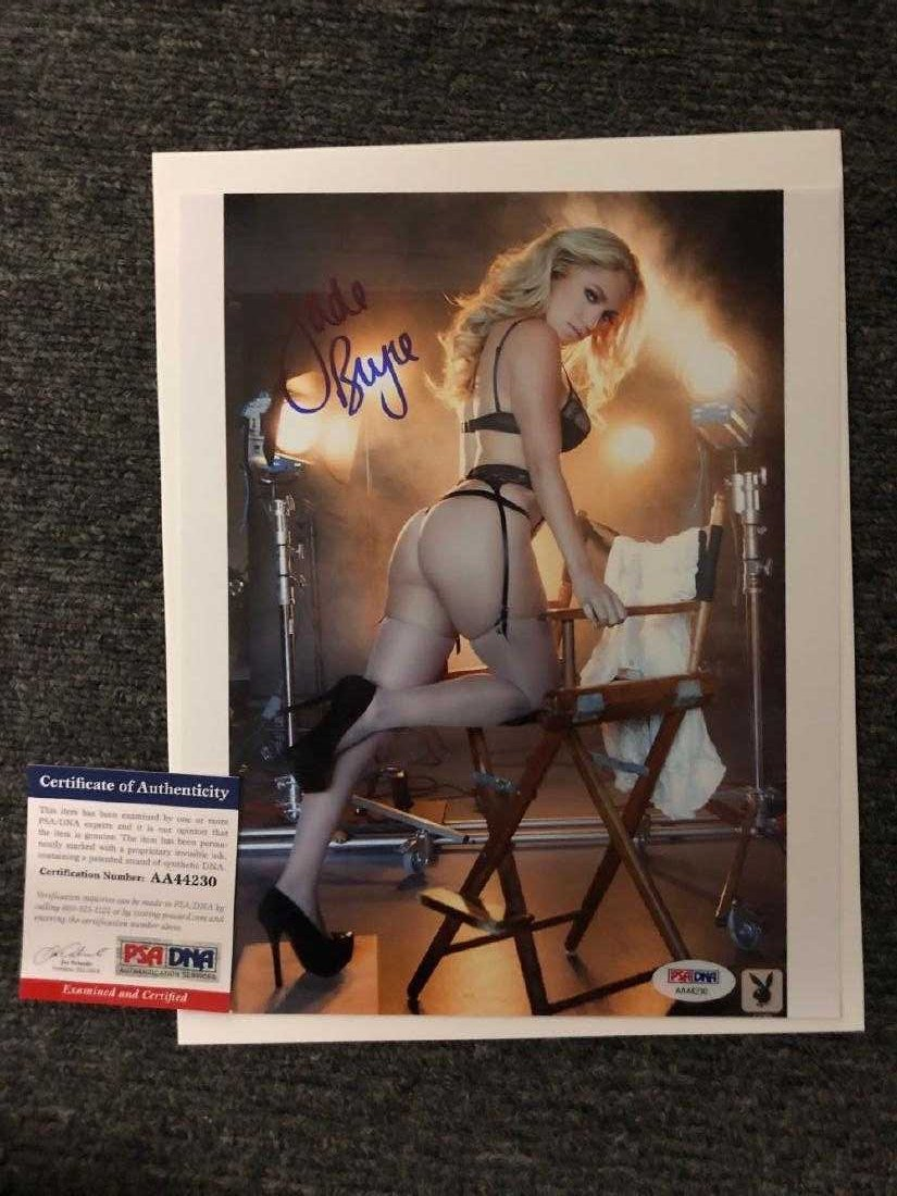 PSA Authenticated Jade Bryce Signed Photo