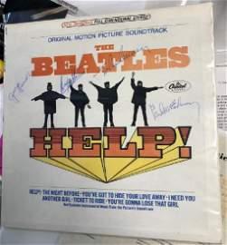 Beatles Signed Help Album