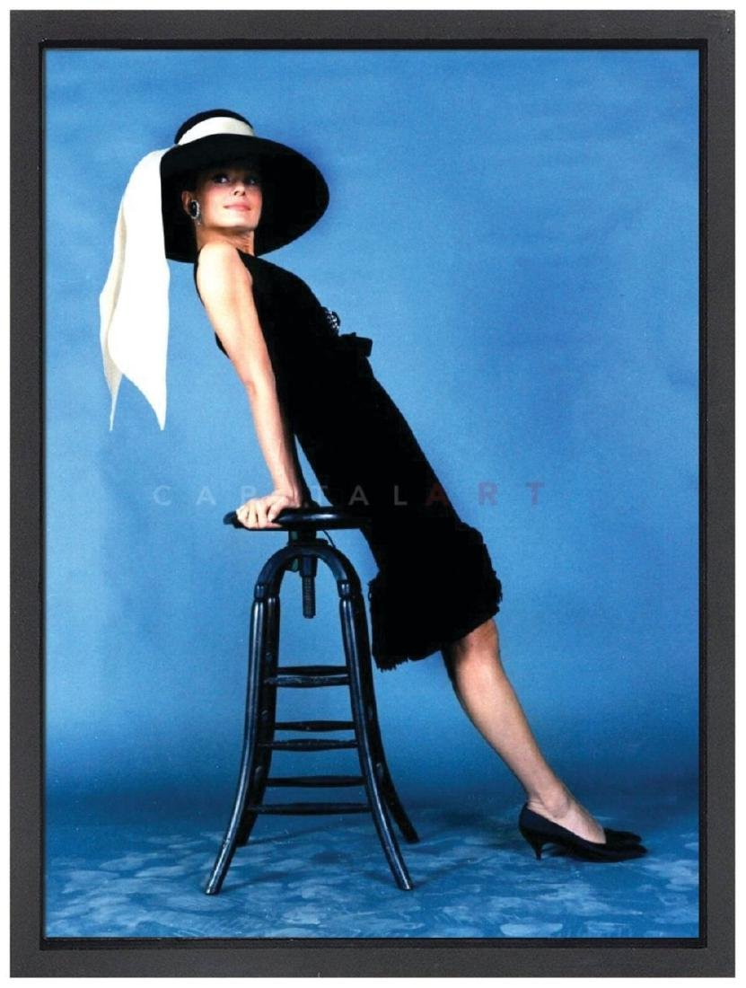 Audrey Hepburn 40x60 In. Limited Edition Lithograph