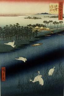Japanese Woodblock Print by Utagawa Hiroshige