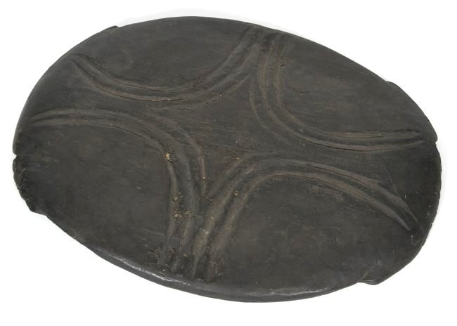 Carved African Feast Wooden Platter