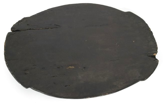 Carved African Feast Wooden Platter - 2
