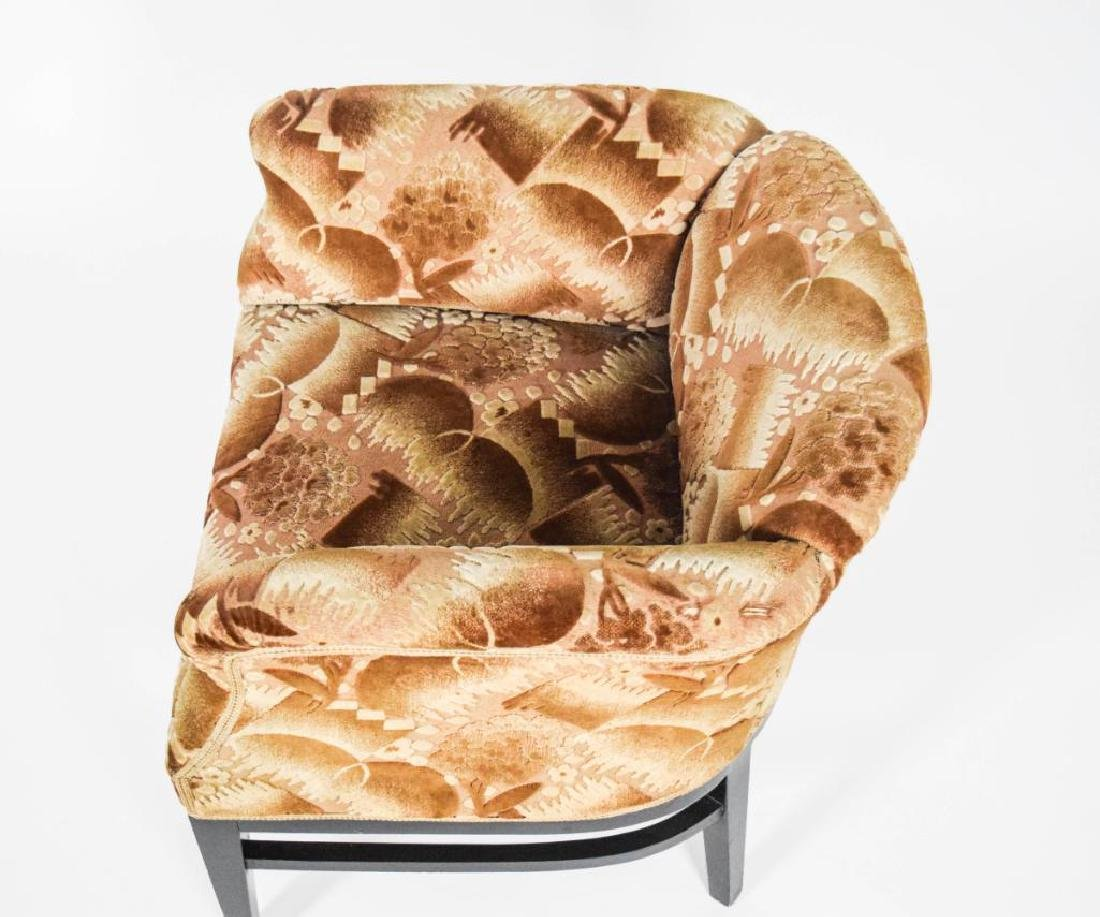 Pair Art Deco Lounge Chairs - 8