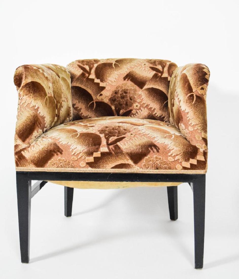 Pair Art Deco Lounge Chairs - 4