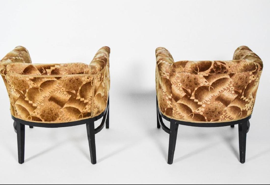 Pair Art Deco Lounge Chairs - 5
