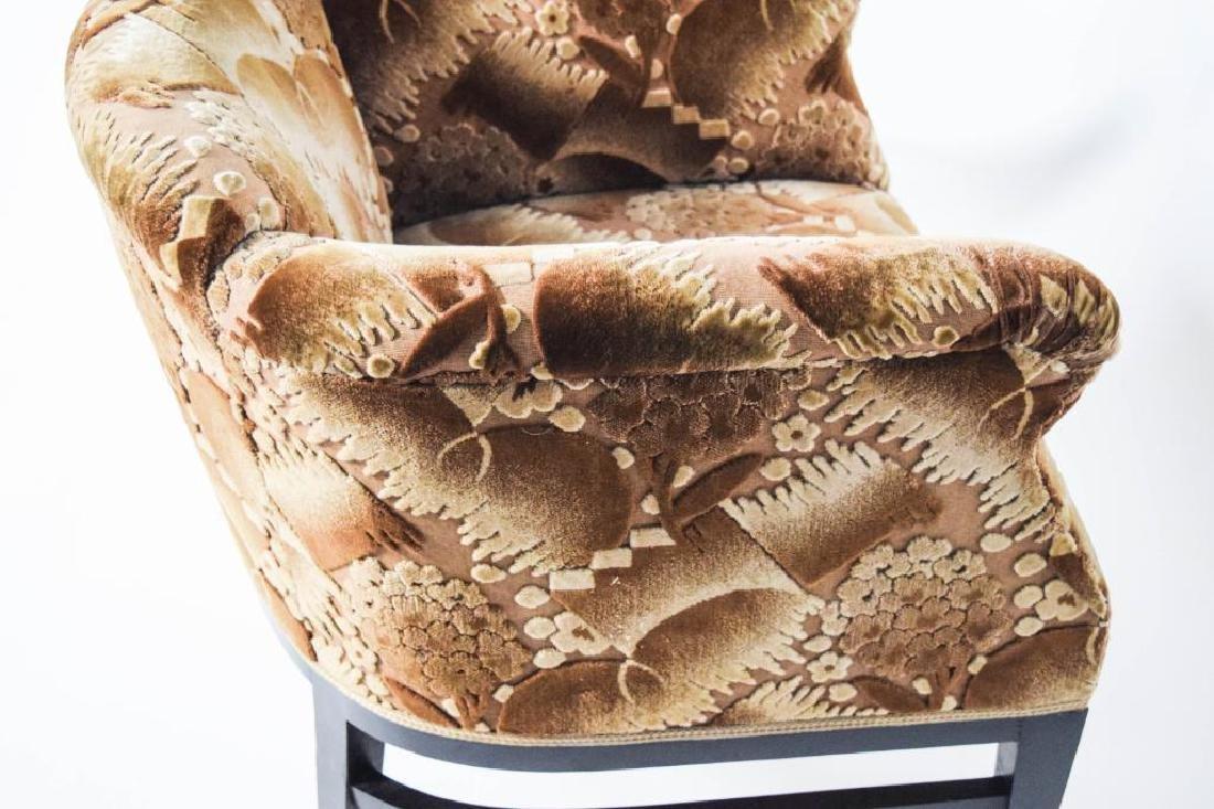 Pair Art Deco Lounge Chairs - 6