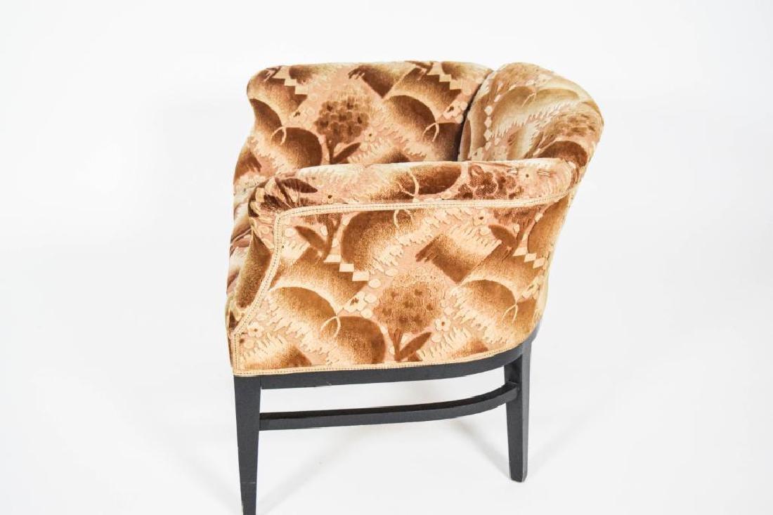 Pair Art Deco Lounge Chairs - 7