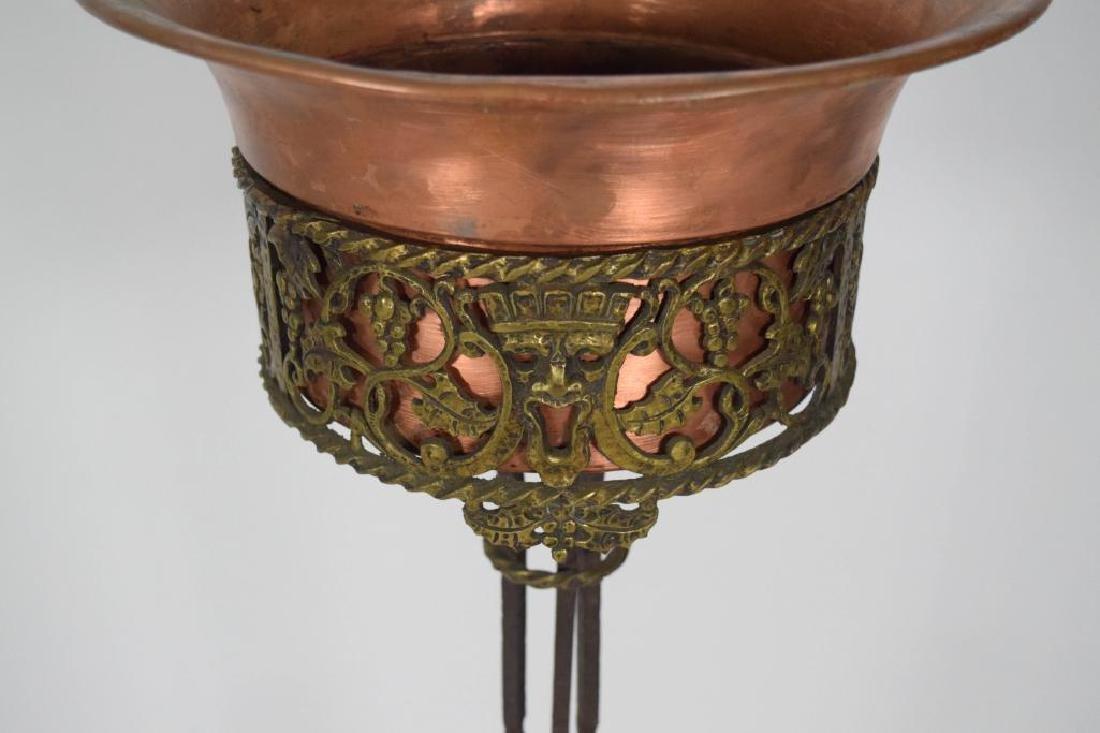 Oscar Bach Bronze Iron Planter - 3