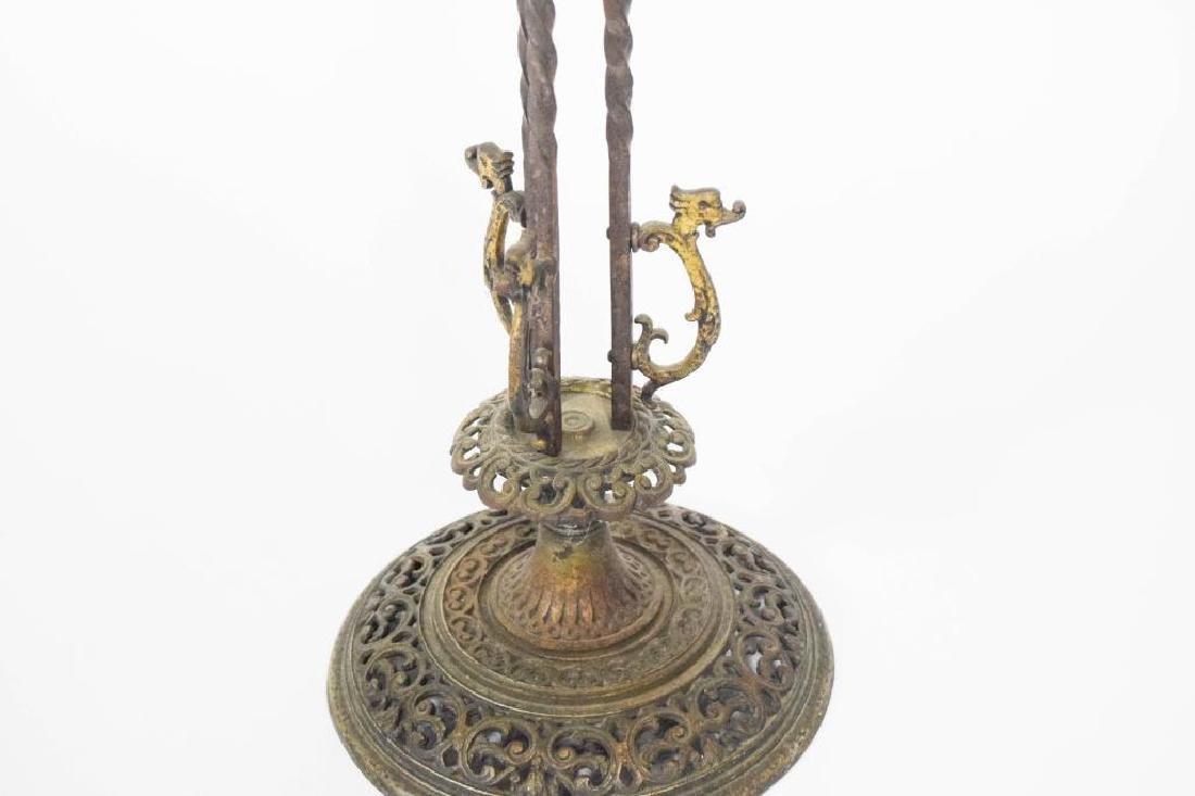 Oscar Bach Bronze Iron Planter - 5