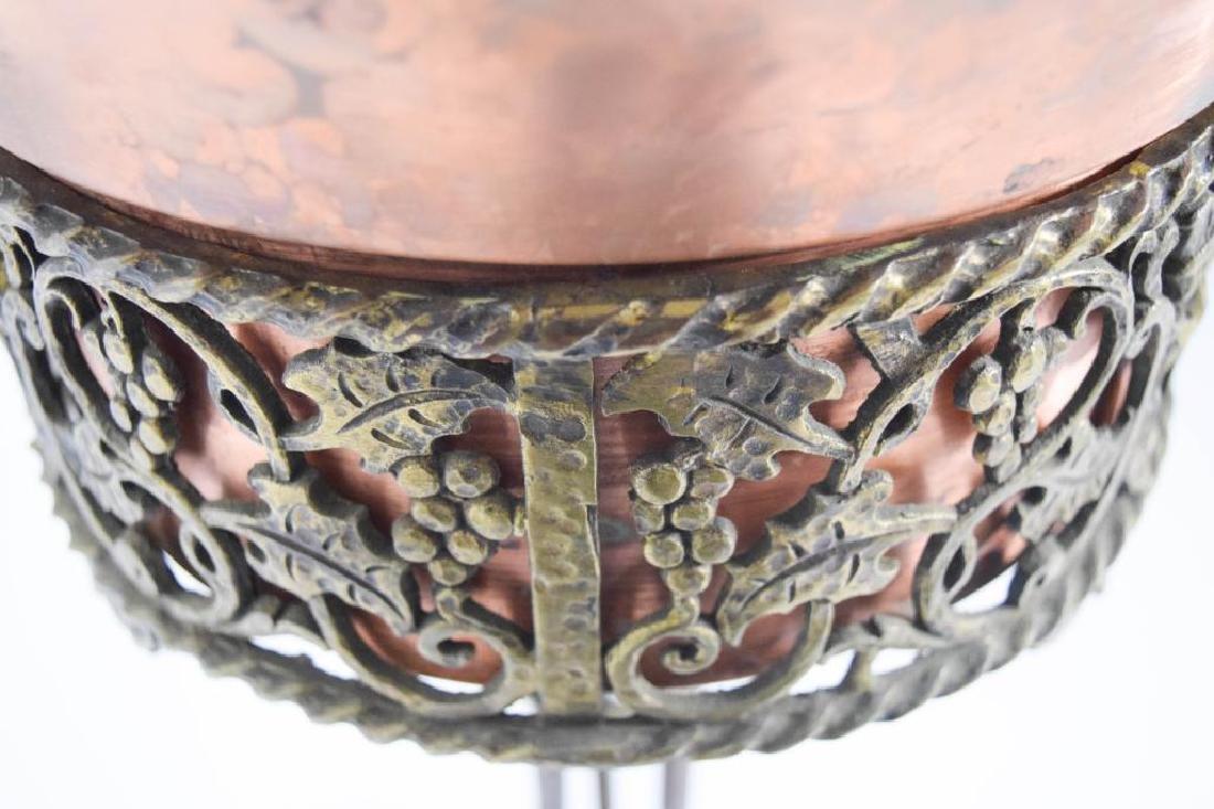 Oscar Bach Bronze Iron Planter - 6