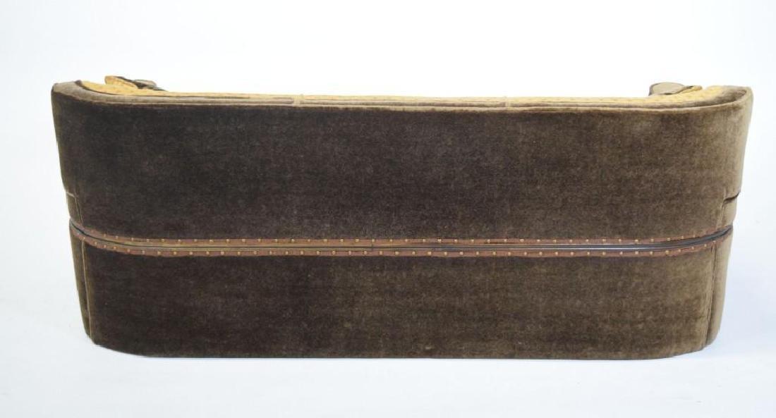 Art Deco Mohair Sofa - 10