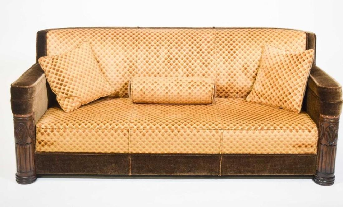 Art Deco Mohair Sofa