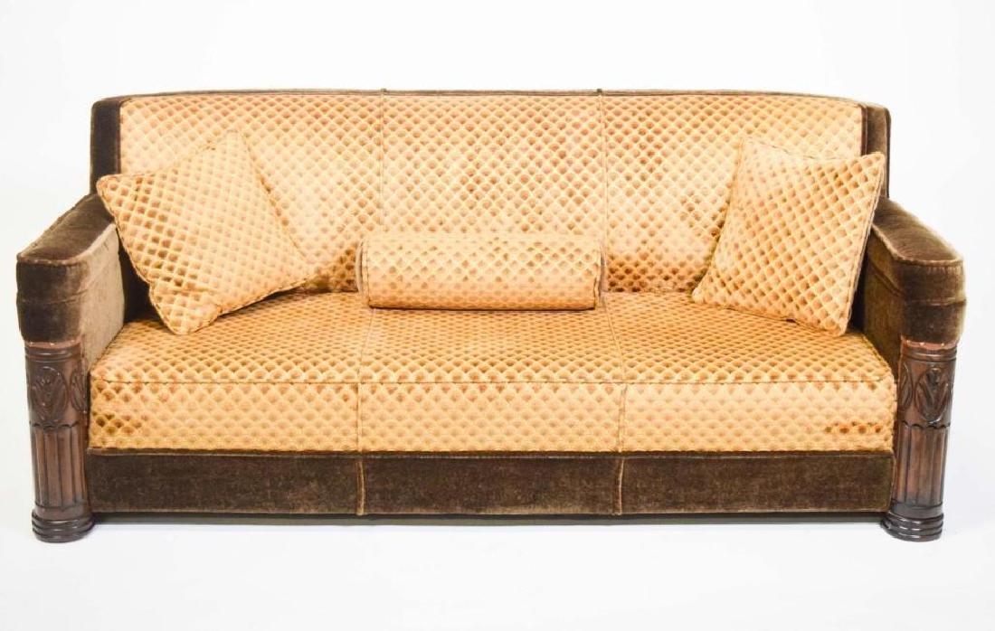 Art Deco Mohair Sofa - 2
