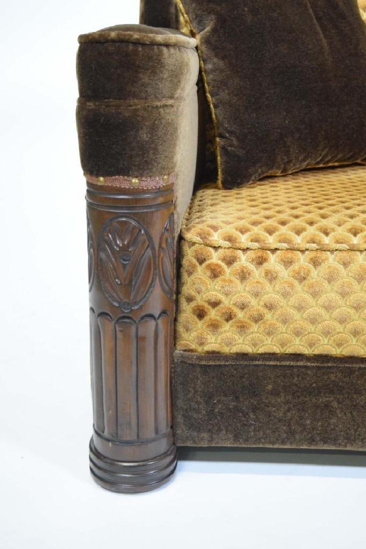 Art Deco Mohair Sofa - 5