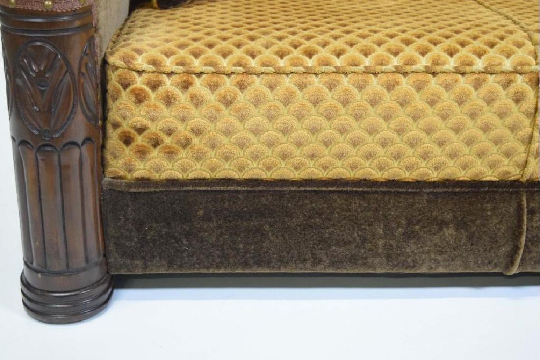Art Deco Mohair Sofa - 6