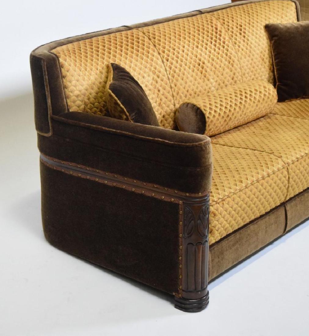 Art Deco Mohair Sofa - 9