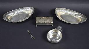 Sterling Silver  Misc Cook and Serve ware