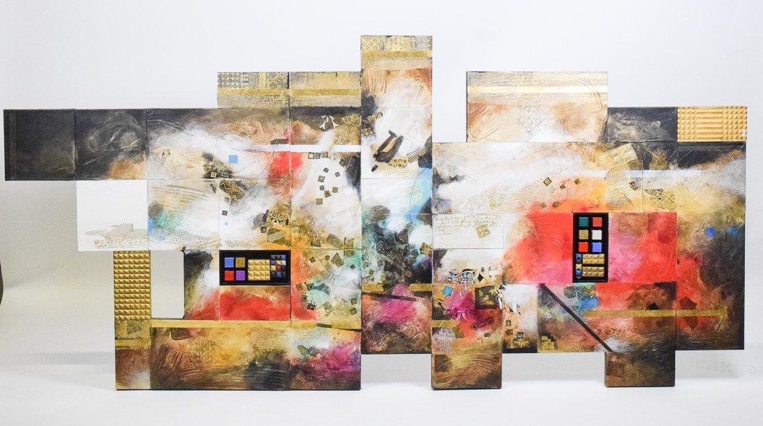 Large Abstract Mixed Media - 2