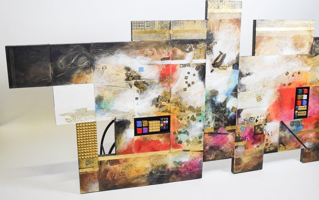Large Abstract Mixed Media - 3