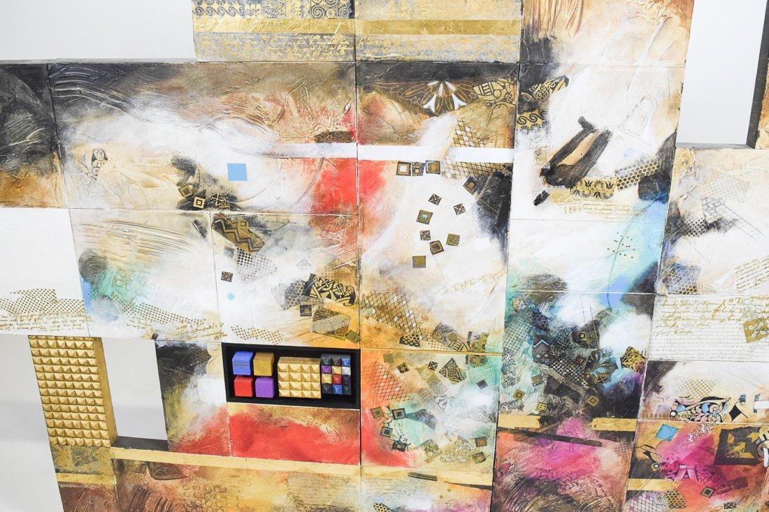 Large Abstract Mixed Media - 4