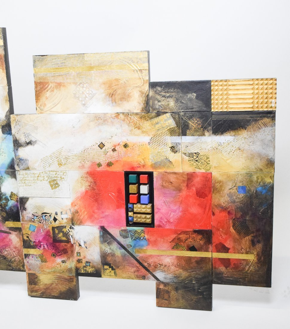 Large Abstract Mixed Media - 5