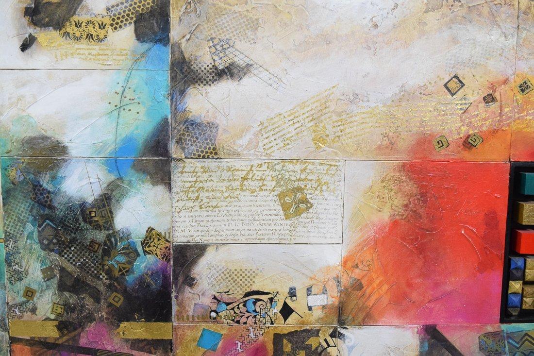 Large Abstract Mixed Media - 6