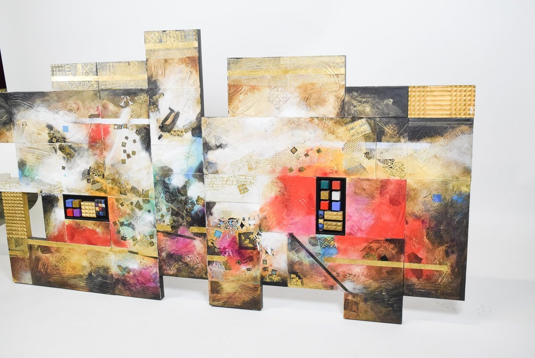 Large Abstract Mixed Media - 7