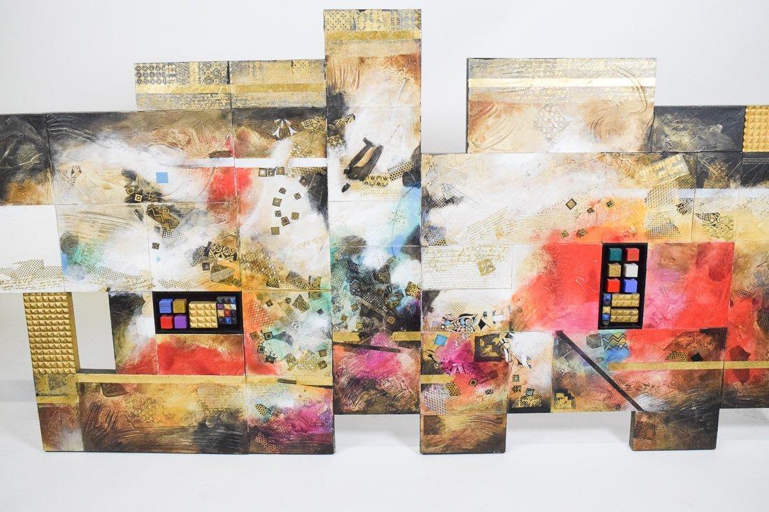 Large Abstract Mixed Media - 9