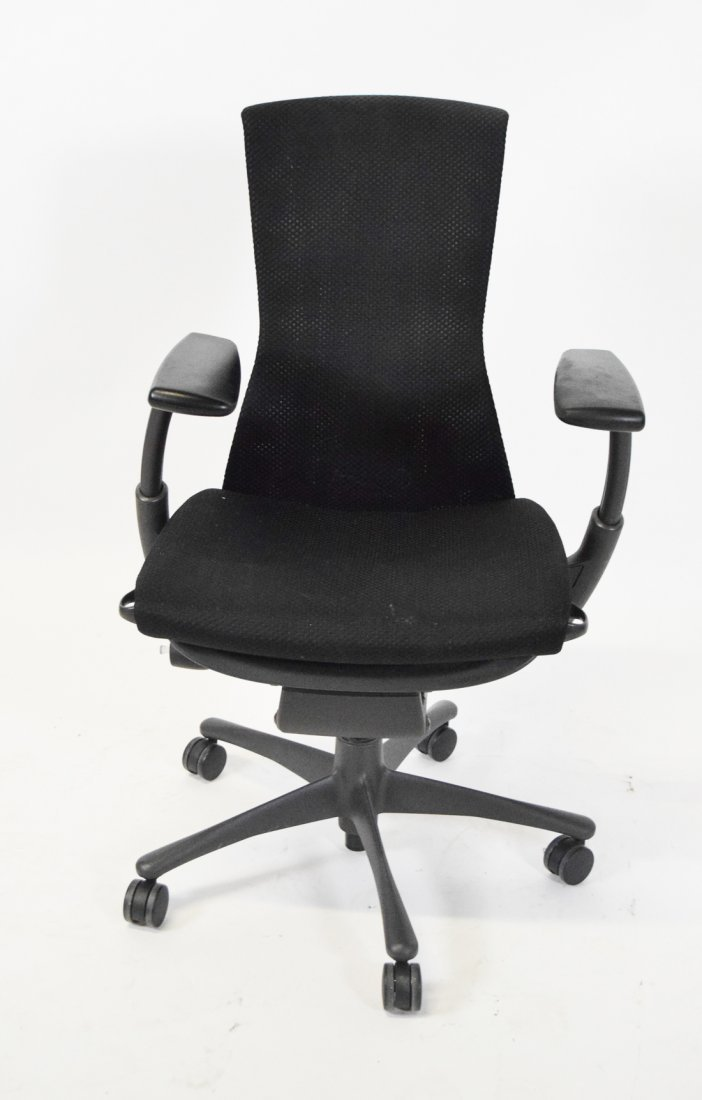 Vintage office chairs for sale Bankers Herman Miller Embody Desk Chair Liveauctioneers Vintage Desk Chairs For Sale Antique Desk Chairs