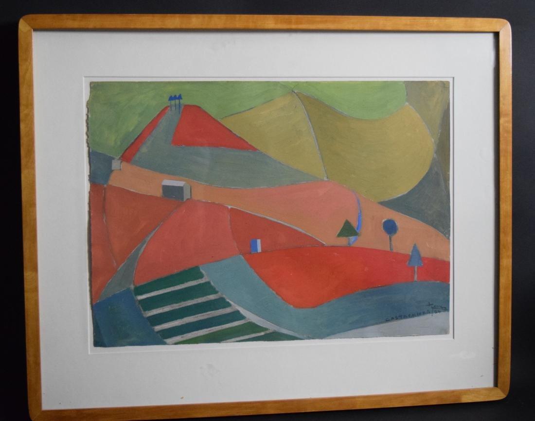Joan Lever Gibbings Oil on Paper