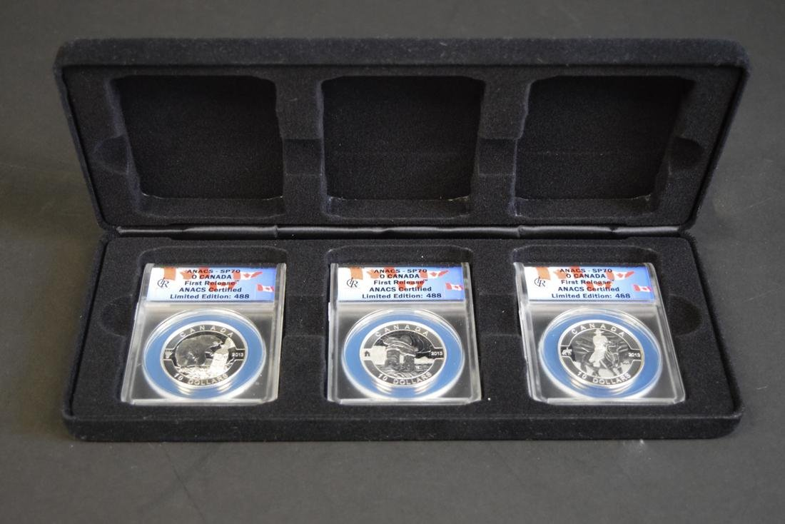 $10 Silver O Canada First Release Coins