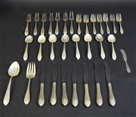 Reed  Barton Partial Sterling Silver Flatware Service