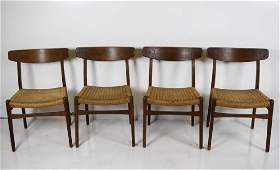 Hans Wegner Mid Century Modern Dining Chairs