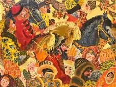 Signed Ilya Shenker Oil on Canvas