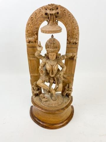 Southeast Asian Wood Carving Lakshmi